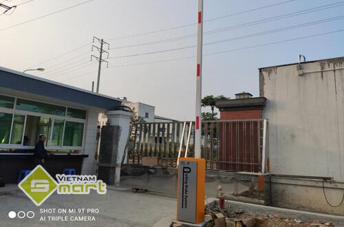 Dự án lắp barrier tự động cho công ty Thành Phát