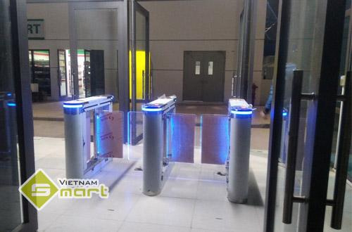 Dự án lắp đặt cổng swing barrier kiểm soát ra vào cho công ty Foxconn, Bắc Giang