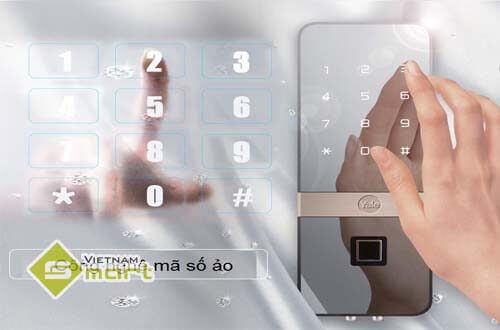 Khóa điện tử mật mã dành cho cửa kính