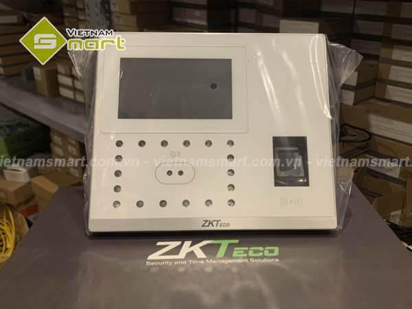 Mẫu chấm công khuôn mặt kết hợp cả vân tay đang rất thinh hành thuộc hãng ZKTeco