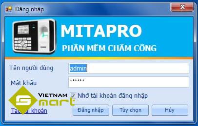 Phần mềm chấm công Mitapro