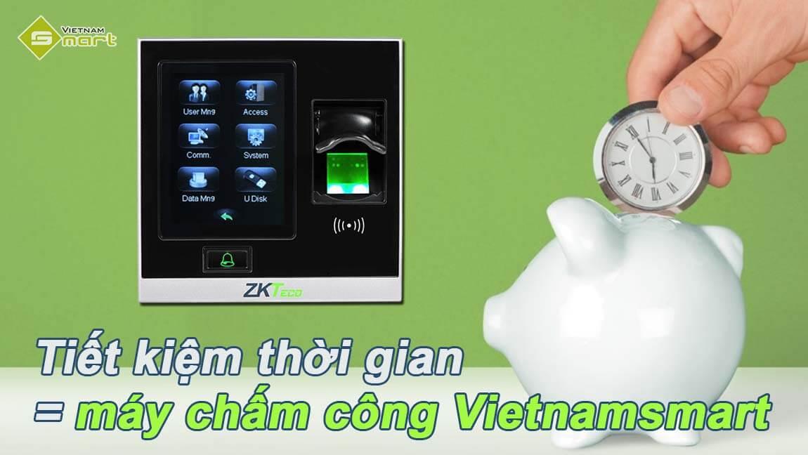 Tiết kiệm được thời gian với thiết bị chấm công mới nhất từ Vietnamsmart