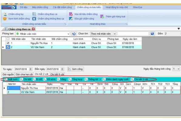 xuất báo cáo ra file Excel