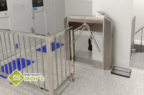 Dự án lắp đặt cổng xoay tripod cho công ty Partron tại Vĩnh Phúc