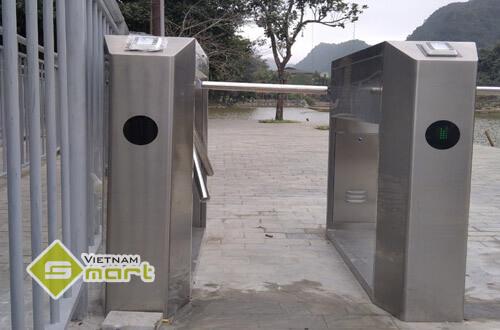 Lắp đặt hệ thống kiểm soát vé bằng QRCode tại khu du lịch Thung Nham