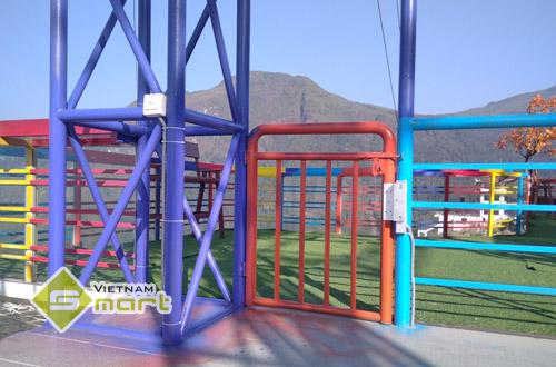 Hệ thống kiểm soát vé tại khu vui chơi - Cầu kính Rồng Mây
