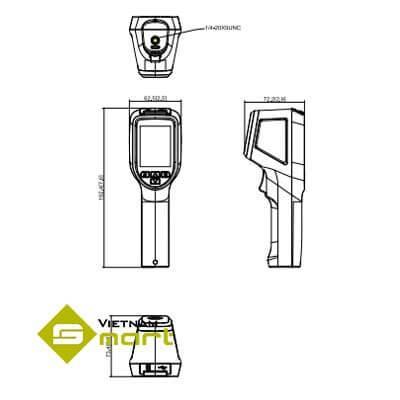 Sơ đồ kết nối thiết bị đo thân nhiệt Dahua