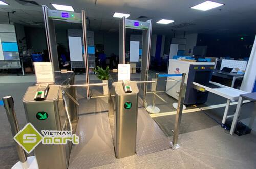 Dự án lắp đặt hệ thống kiểm soát an ninh cho công ty CMC Global
