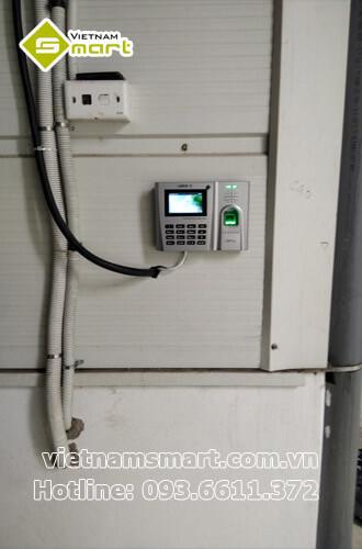 Dự án lắp đặt máy chấm công cho công ty Thyesen Việt Nam