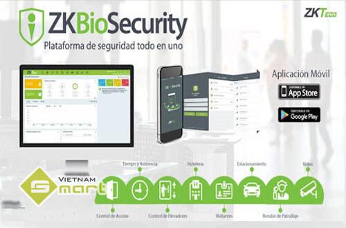 Hướng dẫn sử dụng ZKBio Security app
