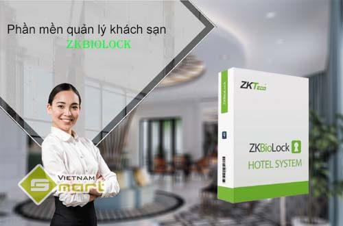 Phần mềm quản lý khách sạn ZKBioLock