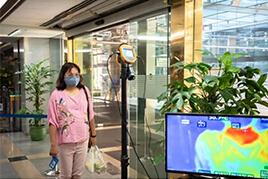 Hệ thống đo thân nhiệt cho chung cư
