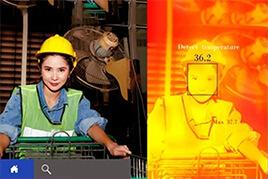 Hệ thống đo thân nhiệt cho nhà máy