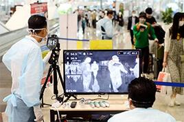 Hệ thống đo thân nhiệt cho sân bay