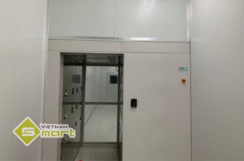 Lắp đặt kiểm soát cửa cho công ty Trizen