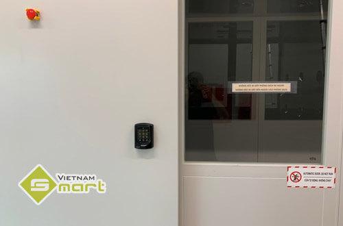 Hệ thống kiểm soát cửa ra vào lắp cho công ty Trizen, Hải Phòng