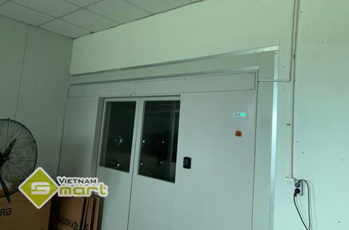 Hình ảnh lắp đặt hệ thống kiểm soát cửa ra vào