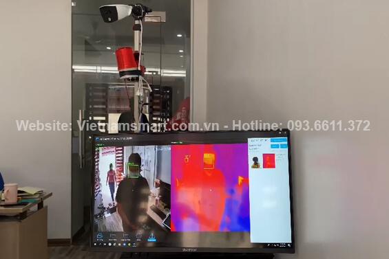 hệ thống camera đo thân nhiệt