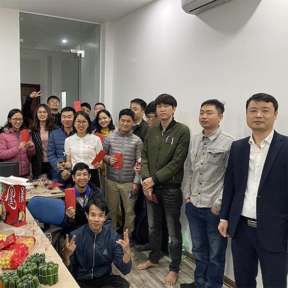 Tập thể nhân viên VietnamSmart