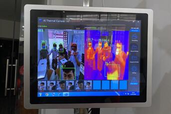 Phần mềm kiểm soát thân nhiệt