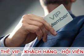 Thẻ VIP - Thẻ khách hàng - Thẻ hội viên