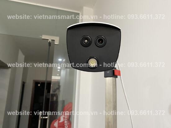 Góc chụp ảnh thiết bị Camera đo thân nhiệt