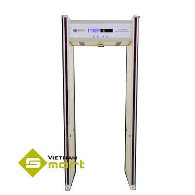 Cổng dò kim loại đo thân nhiệt AT300TS Plus