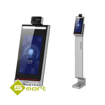 Máy chấm công khuôn mặt kết hợp đo nhiệt độ DS-K5604A-3XF V