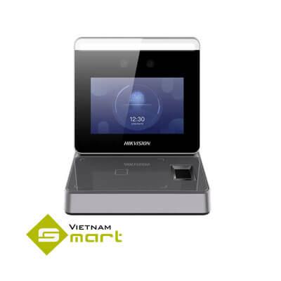 Thiết bị lấy mẫu vân tay và khuôn mặt Hikvision DS-K1F600-D6E