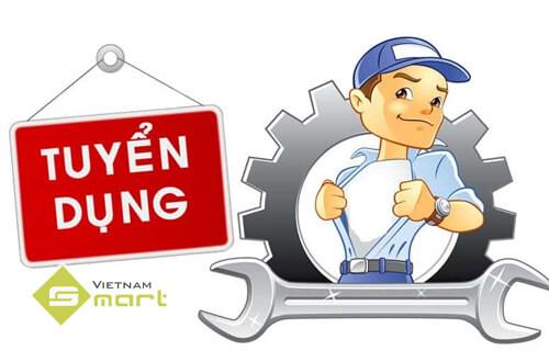 VietnamSmart tuyển dụng nhân viên kỹ thuật
