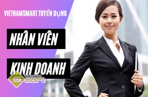 Tuyển nhân viên kinh doanh làm việc cho công ty VietnamSmart
