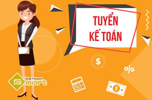 VietnamSmart tuyển gấp 2 nhân viên kế toán đi làm ngay