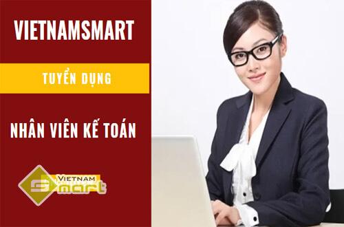 VietnamSmart tuyển dụng nhân viên kế toán