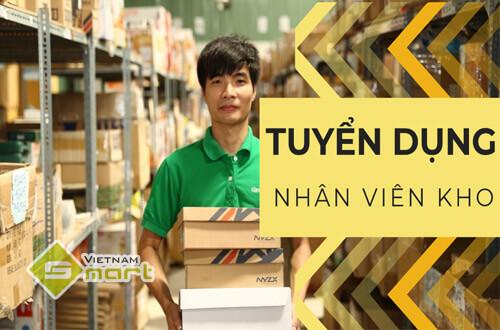 Tuyển dụng vị trí nhân viên kho - VietnamSmart