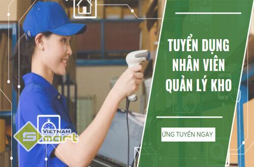 VietnamSmart tuyển dụng nhân viên quản lý kho