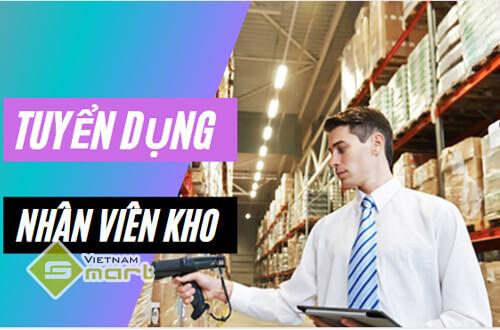 VietnamSmart tuyển gấp nhân viên kho đi làm ngay