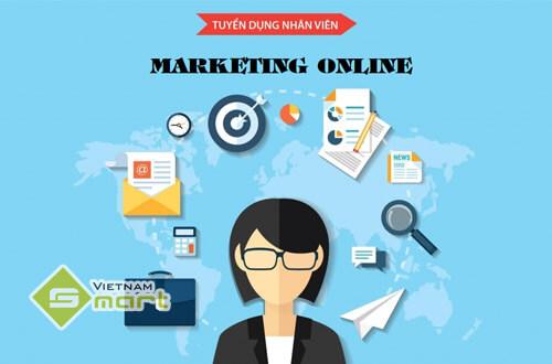 VietnamSmart tuyển gấp nhân viên Marketing Online