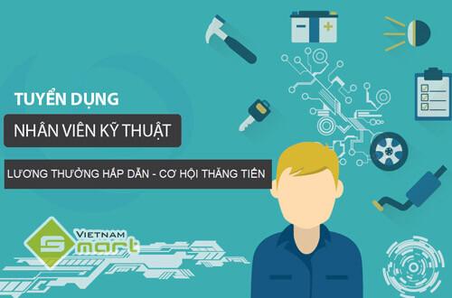 VietnamSmart tuyển dụng vị trí nhân viên kỹ thuật