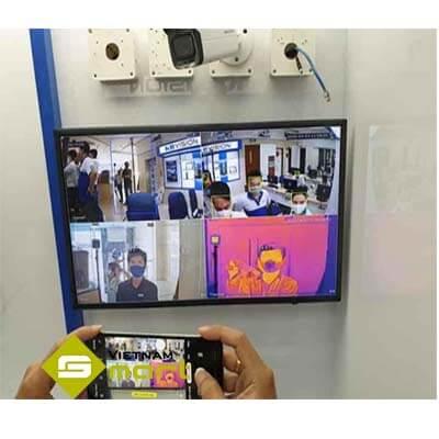 Camera KX-H02TN đo thân nhiệt người dùng không tiếp xúc