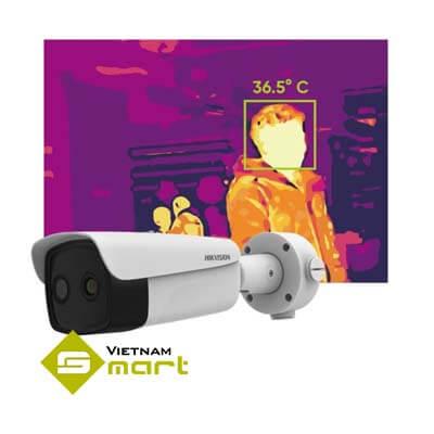 Ảnh camera DS-2TD2617B-3/PA được dùng để đo ảnh nhiệt