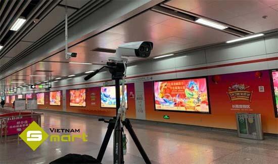 Camera nhiệt độ TPC-BF2221-T được sử dụng tại siêu thị