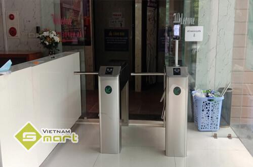 Dự án lắp đặt cổng xoay tripod kiểm soát ra vào tại công ty Sun Grand, Bắc Giang
