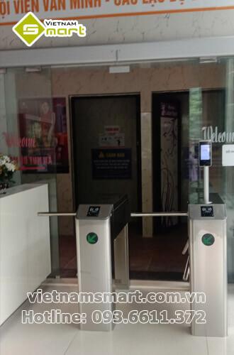 Dự án lắp đặt cổng xoay tripod kiểm soát ra vào tại công ty Sun Grand Bắc Giang