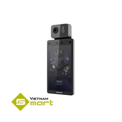 Máy chấm công khuôn mặt kết hợp đo thân nhiệt DS-K1T672DWX-T