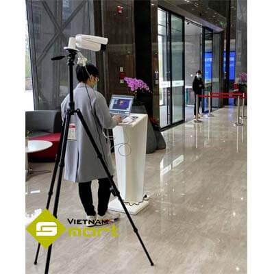 Thiết bị camera DS-2TD2637B-10-P được ứng dụng vào mô hình thực tế