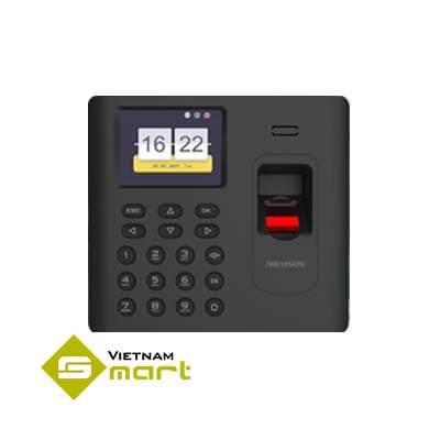 Thiết bị kiểm soát cửa bằng vân tay thẻ Hikvision DS-K1A802AEF