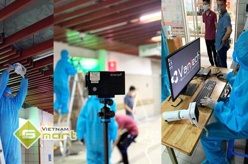 Ứng dụng của camera đo thân nhiệt VANTECH VP-TN83Z trong bệnh viện