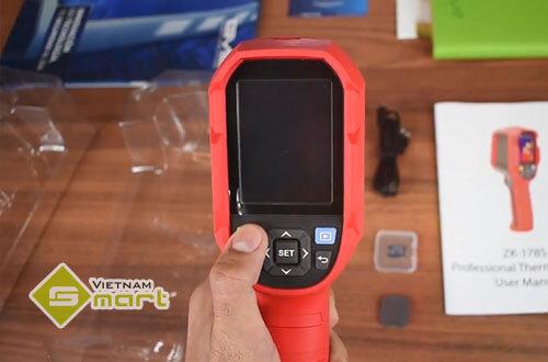 Cận cảnh thiết bị đo thân nhiệt cầm tay ZK-178S