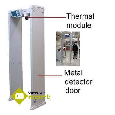 Cấu tạo của cổng dò đo than nhiệt ISD-SMG318LT-F