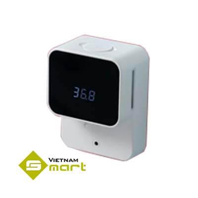 Máy đo thân nhiệt kết hợp dung dịch rửa tay MK09
